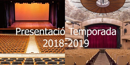 Presentació Temporada 2018-2019